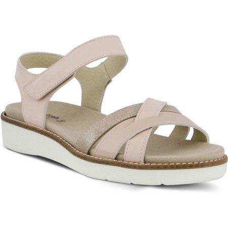 Spring Step Womens Elzira Strappy Sandal