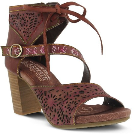 Spring Step L'Artiste Womens Sujala Sandal Booties