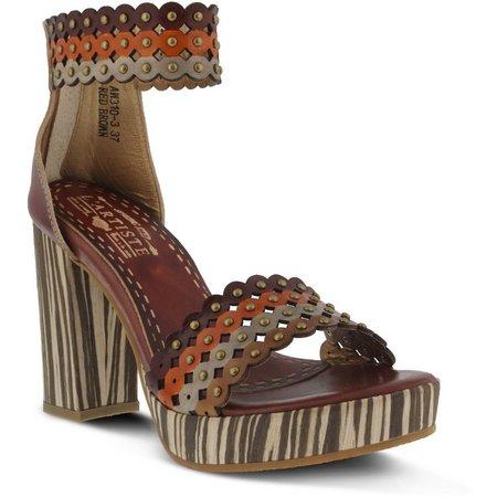 Spring Step L'Artiste Womens Anna Platform Sandals