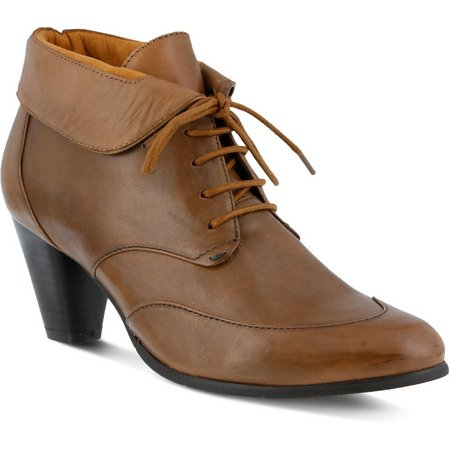 Spring Step Womens Conquer Lace Up Bootie