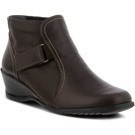 Spring Step Womens Andrea Pull On Bootie