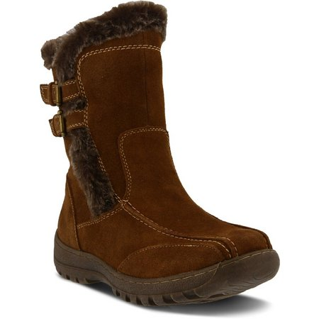 Spring Step Womens Achieve Pull On Boot