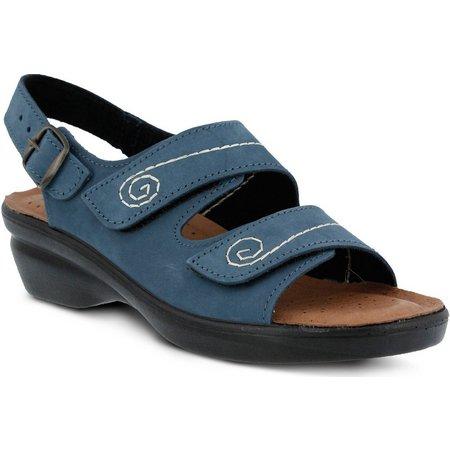 Spring Step Womens Belamar Back Strap Sandals