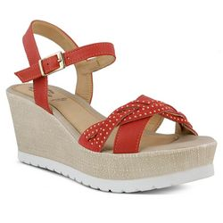 Spring Step Womens Uribia Wedge Sandals