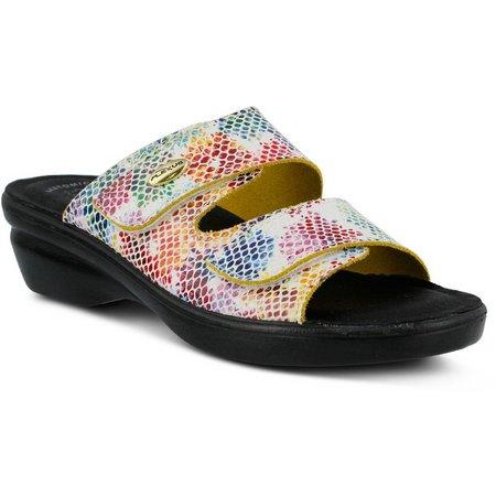Spring Step Womens Flexus Kina Slide Sandals