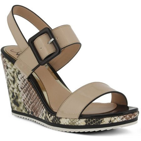 Spring Step Womens Azura Nzuri Wedges