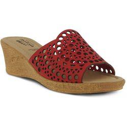 Spring Step Womens Martha Silde Wedge Sandals