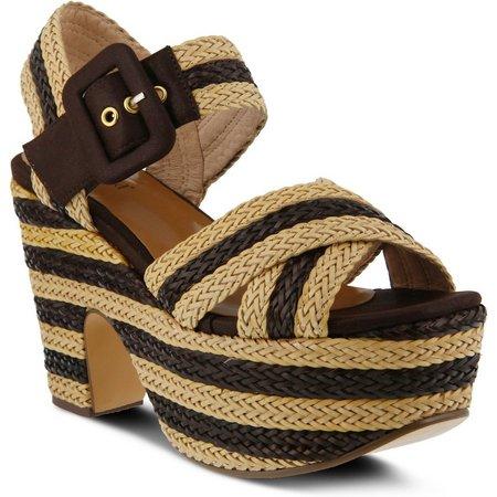 Spring Step Womens Azura Amare Platform Sandals