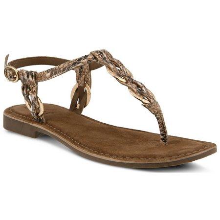 Spring Step Womens Azura Cerelia Thong Sandals