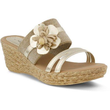 Spring Step Womens Azura Aketi Wedge Sandals