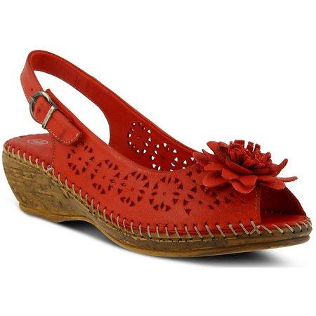 Spring Step Womens Belford Wedge Sandals
