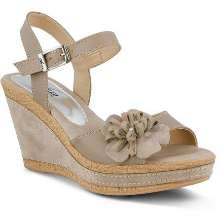 Spring Step Womens Azura Casola Wedge Sandal