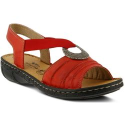 Spring Step Womens Karmel Wedge Sandals