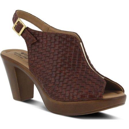 Spring Step Womens Jazmin Peep Toe Sandals