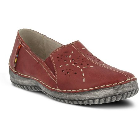 Spring Step Womens Dematra Slip On Shoes