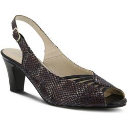 New! Spring Step Womens Fiorella Peep Toe Pumps