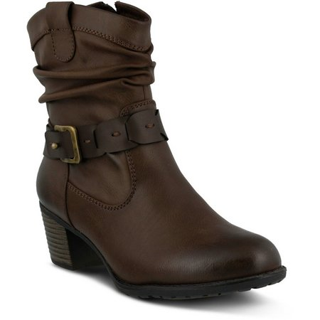 Spring Step Womens Biddy Mid Calf Boots