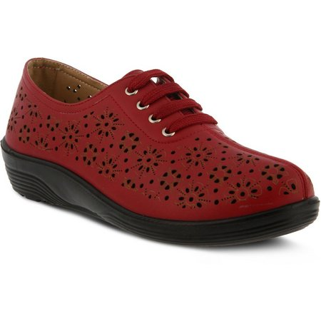 Spring Step Womens Flexus Energi Lace-Up Shoes