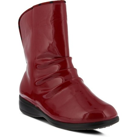 Spring Step Womens Flexus Candyapple Rain Boots