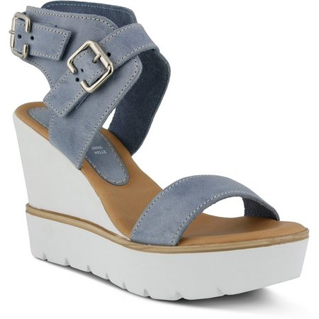 Spring Step Womens Azura Leticia Buckle Sandal