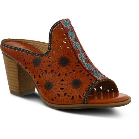 Spring Step Womens L'Artiste Habune Mule Sandals