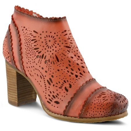 Spring Step Womens L'Artiste Bao Ankle Boot