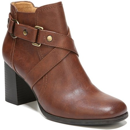 Naturalizer Womens Coco Heeled Ankle Boots