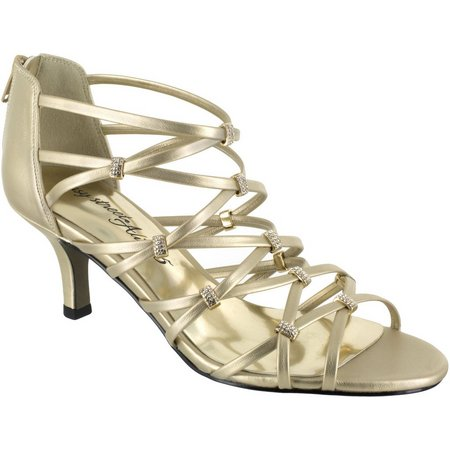 Easy Street Womens Nightingale Evening Sandals