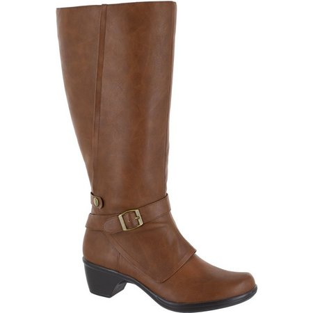 Easy Street Womens Jan Plus Wide Calf Tall