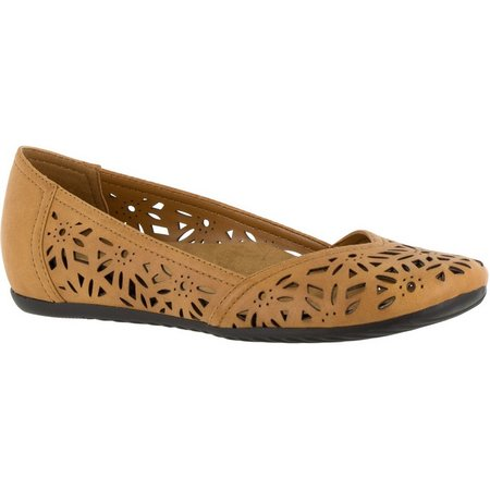 Easy Street Womens Charlize Hidden Wedge Loafers