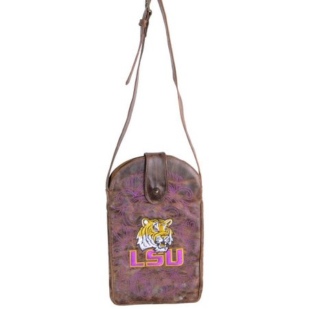 Gameday Boots LSU Tigers Crossbody Handbag