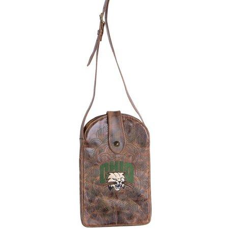 Gameday Boots Ohio Bobcats Crossbody Handbag
