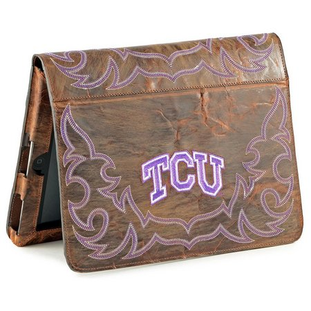 Gameday Boots TCU Horned Frogs iPad Case
