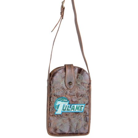 Gameday Boots Tulane Green Wave Crossbody Handbag