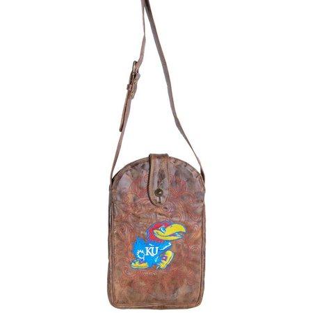 Gameday Boots Kansas Jayhawks Crossbody Handbag
