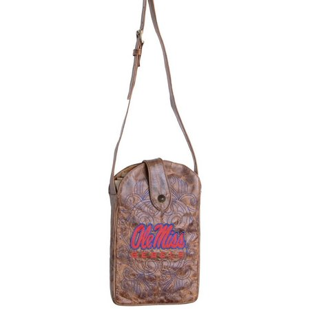 Gameday Boots Ole Miss Rebels Crossbody Handbag
