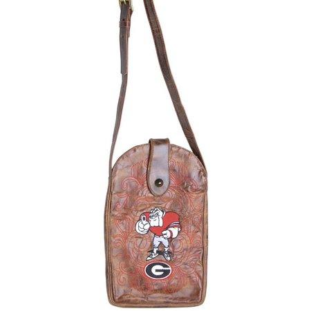 Gameday Boots Georgia Bulldogs Crossbody Handbag