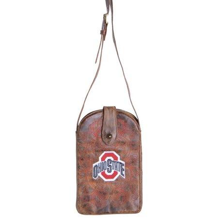 Gameday Boots Ohio Buckeyes Crossbody Handbag