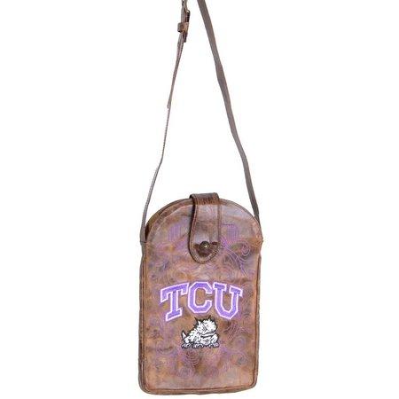 Gameday Boots TCU Horned Frogs Crossbody Handbag