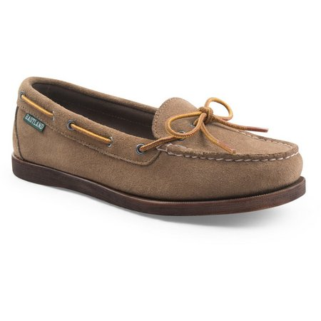 Eastland Womens Yarmouth Suede Boat Shoes