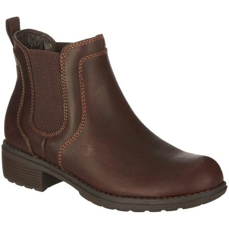 Eastland Womens Double Up Ankle Boots