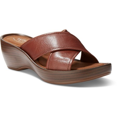 Eastland Womens Candice Wedge Sandals
