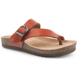 New! Eastland Womens Shauna Thong Sandals
