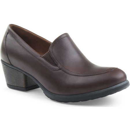 New! Eastland Womens Tonie Block-Heel Loafers