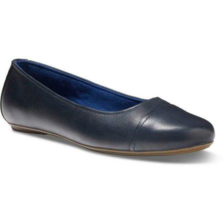Eastland Womens Gia Leather Flats