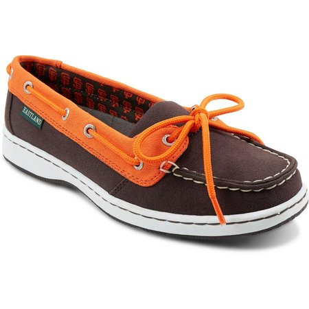 San Francisco Giants Womens Boat Shoes by Eastland