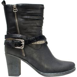 Muk Luks Womens Opal Strappy Boots