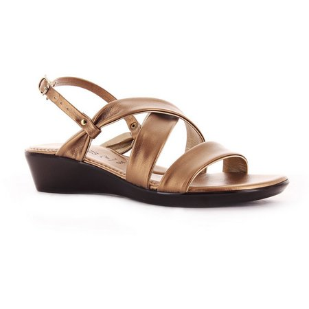 Italian Shoemakers Womens Ankle Strap Sandals