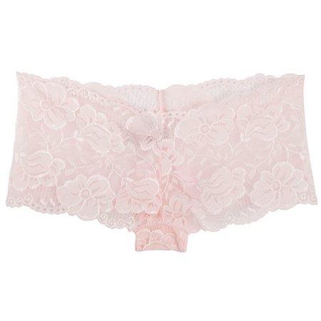 Maddie & Coco Floral Lace Boyshorts Panties