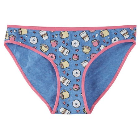 Maddie & Coco Donuts & Coffee Bikini Panties